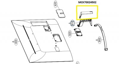MCK70024502 Cover