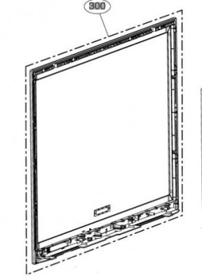 ABJ72967416 Cabinet Assembly